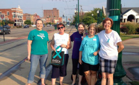 RVOCA Volunteers Turning Downtown Fort Smith TEAL