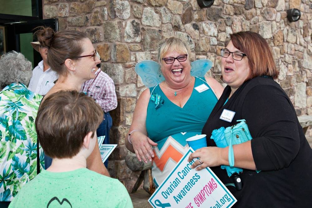 Butterfly Release RVOCA River Valley Ovarian Cancer Alliance Janet Huckabee Nature Center Fort Smith AR