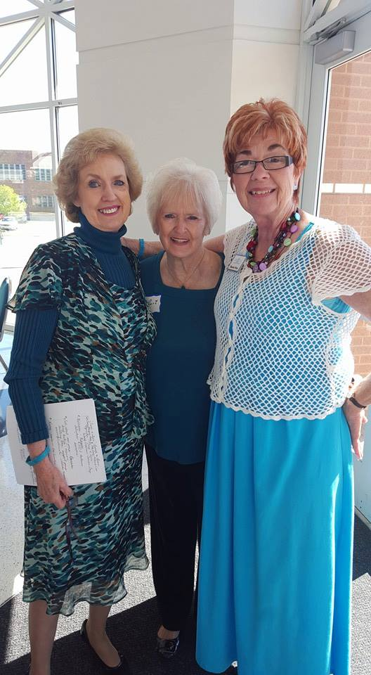 June Flute Blanche West River Valley Ovarian Cancer Alliance RVOCA Fort Smith Arkansas Teal to Teal Luncheon