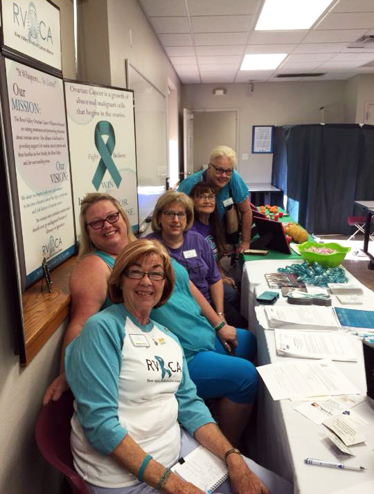 River Valley Ovarian Cancer Alliance RVOCA Fort Smith Arkansas Gynecological Cancer Support Group