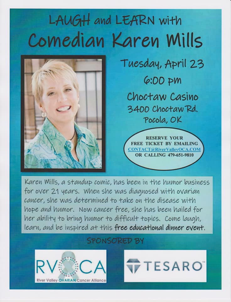 Laugh and Learn Comedian Karen Mills